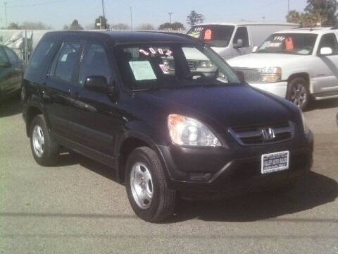 2002 Honda CR-V for sale at Valley Auto Sales & Advanced Equipment in Stockton CA