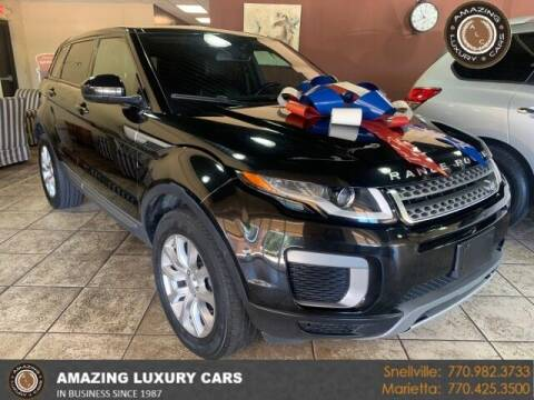 2016 Land Rover Range Rover Evoque for sale at Amazing Luxury Cars in Snellville GA