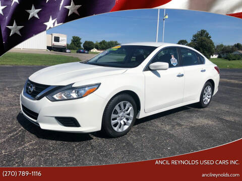 2018 Nissan Altima for sale at Ancil Reynolds Used Cars Inc. in Campbellsville KY
