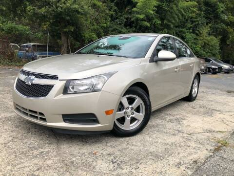 2014 Chevrolet Cruze for sale at Atlas Auto Sales in Smyrna GA