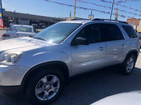 2012 GMC Acadia for sale at DYNAMIC CARS in Baltimore MD