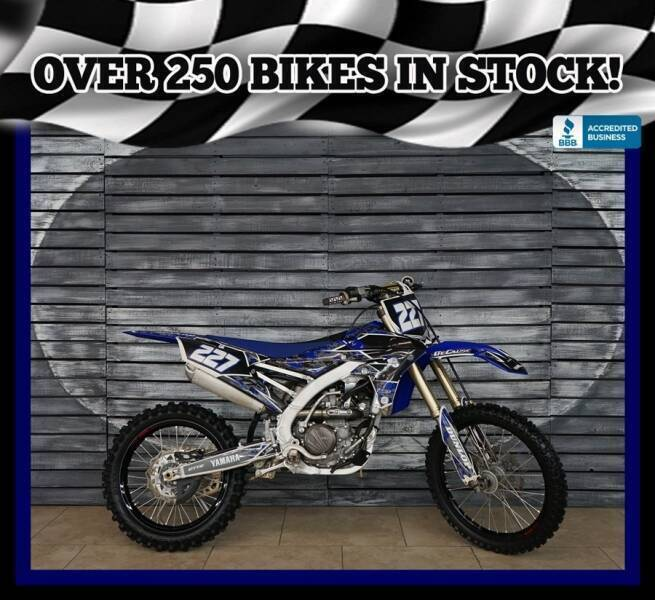 2017 Yamaha YZ250F for sale at AZautorv.com in Mesa AZ