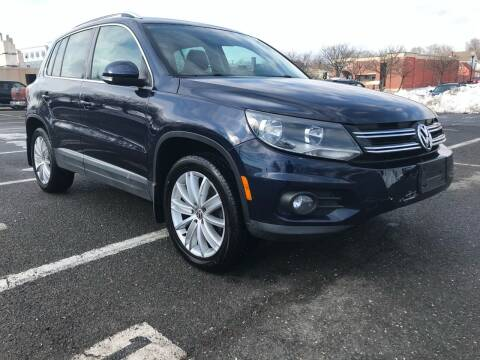 2013 Volkswagen Tiguan for sale at Bluesky Auto in Bound Brook NJ