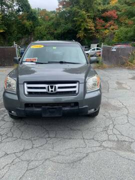 2008 Honda Pilot for sale at ALAN SCOTT AUTO REPAIR in Brattleboro VT
