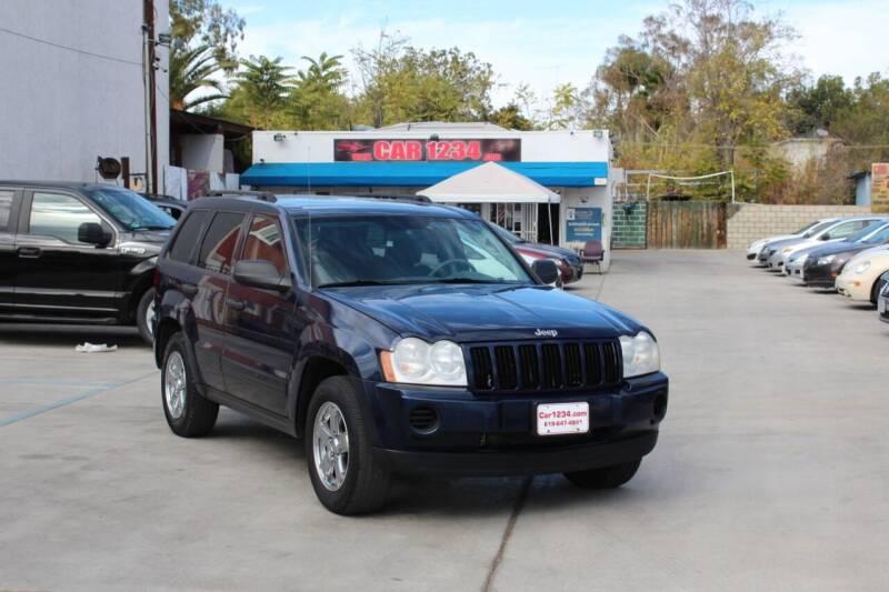 2005 Jeep Grand Cherokee for sale at Car 1234 inc in El Cajon CA