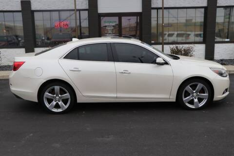 2014 Chevrolet Malibu for sale at Ultimate Auto Deals DBA Hernandez Auto Connection in Fort Wayne IN