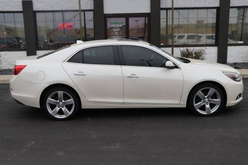 2014 Chevrolet Malibu for sale at Ultimate Auto Deals in Fort Wayne IN