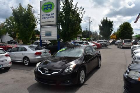 2011 Nissan Altima for sale at Rite Ride Inc in Murfreesboro TN