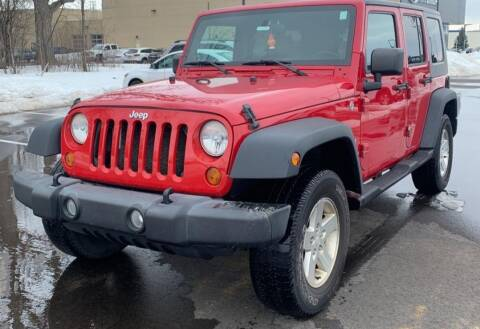 2007 Jeep Wrangler Unlimited for sale at Wheels Auto Sales in Bloomington IN