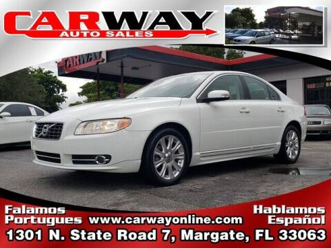2010 Volvo S80 for sale at CARWAY Auto Sales in Margate FL