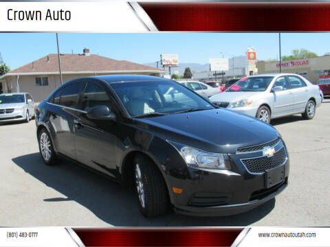 2012 Chevrolet Cruze for sale at Crown Auto in South Salt Lake UT