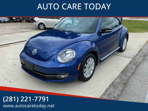 2012 Volkswagen Beetle for sale at AUTO CARE TODAY in Spring TX