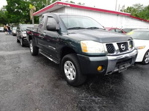 2006 Nissan Titan for sale at DONNY MILLS AUTO SALES in Largo FL