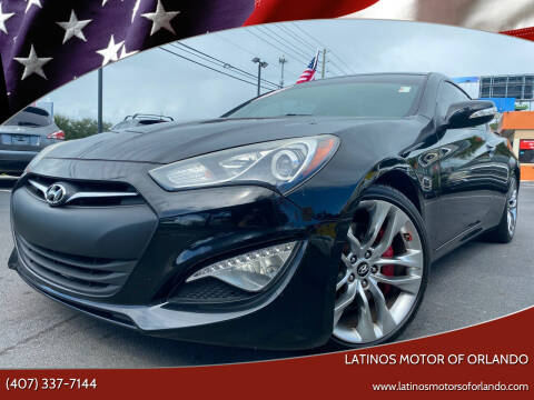 2013 Hyundai Genesis Coupe for sale at LATINOS MOTOR OF ORLANDO in Orlando FL