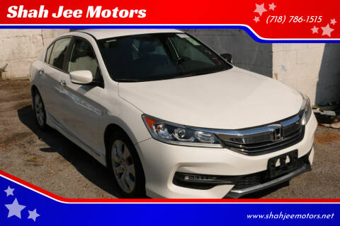 2017 Honda Accord for sale at Shah Jee Motors in Woodside NY