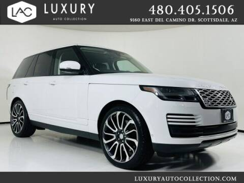 2018 Land Rover Range Rover for sale at Luxury Auto Collection in Scottsdale AZ