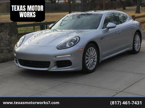 2014 Porsche Panamera for sale at TEXAS MOTOR WORKS in Arlington TX