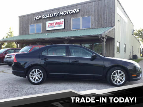 2012 Ford Fusion for sale at Top Quality Motors & Tire Pros in Ashland MO