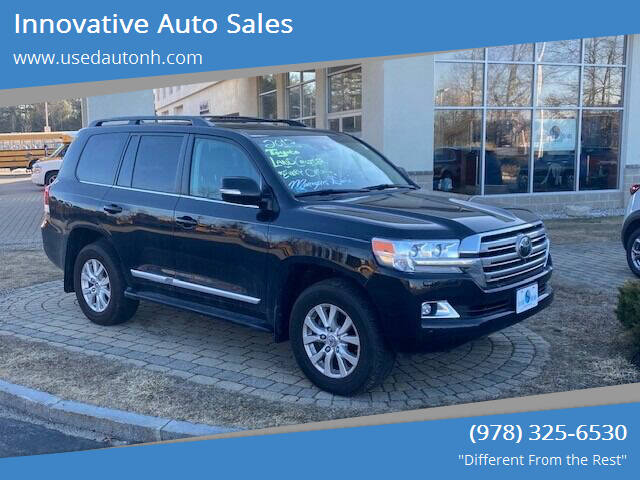 2018 Toyota Land Cruiser for sale at Innovative Auto Sales in North Hampton NH