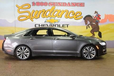 2017 Lincoln MKZ for sale at Sundance Chevrolet in Grand Ledge MI