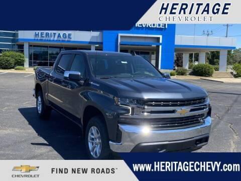 2021 Chevrolet Silverado 1500 for sale at HERITAGE CHEVROLET INC in Creek MI