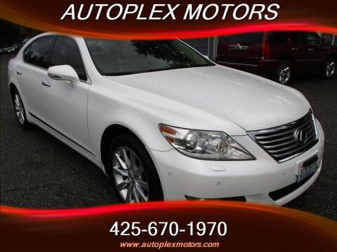 2010 Lexus LS 460 for sale at Autoplex Motors in Lynnwood WA