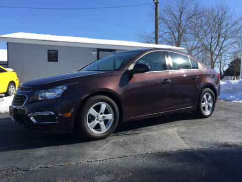 2015 Chevrolet Cruze for sale at Barnsley Auto Sales in Oxford PA