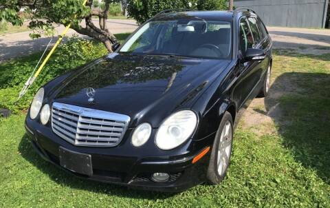 2007 Mercedes-Benz E-Class for sale at Richard C Peck Auto Sales in Wellsville NY