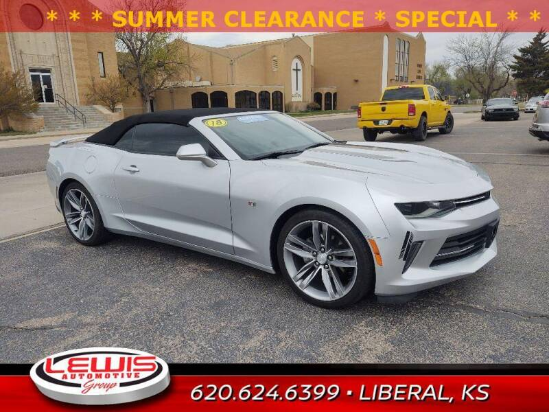 2018 Chevrolet Camaro for sale at Lewis Chevrolet Buick of Liberal in Liberal KS