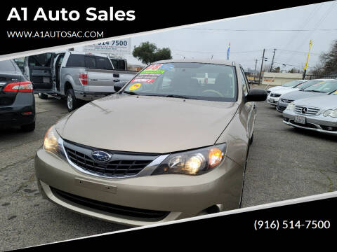 2008 Subaru Impreza for sale at A1 Auto Sales in Sacramento CA