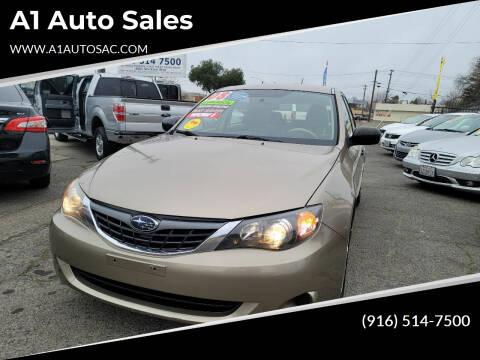 2008 Subaru Impreza for sale at A1 Auto Sales in Sacramento CA