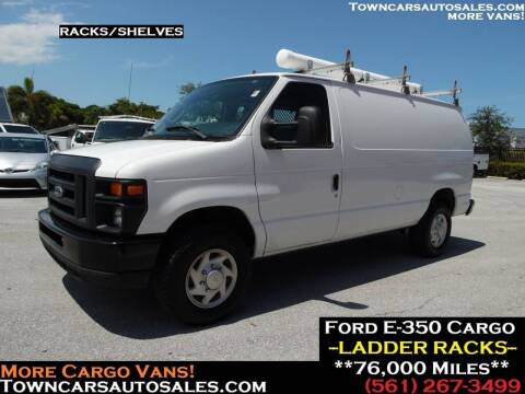 2009 Ford E-350 for sale at Town Cars Auto Sales in West Palm Beach FL