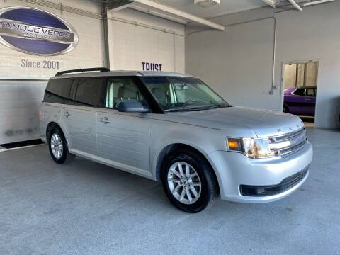 2014 Ford Flex for sale at TANQUE VERDE MOTORS in Tucson AZ