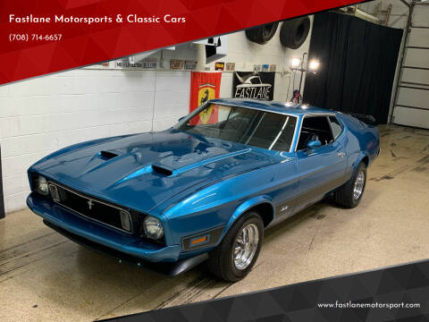 1973 Ford Mustang for sale at Fastlane Motorsports & Classic Cars in Addison IL