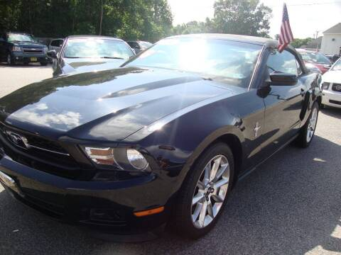 2011 Ford Mustang for sale at Easy Ride Auto Sales Inc in Chester VA