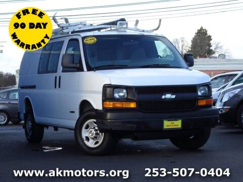 2005 Chevrolet Express Cargo for sale at AK Motors in Tacoma WA