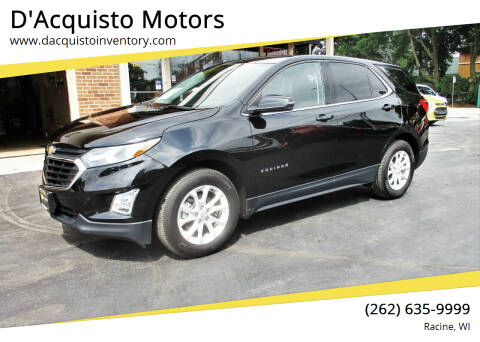 2018 Chevrolet Equinox for sale at D'Acquisto Motors in Racine WI