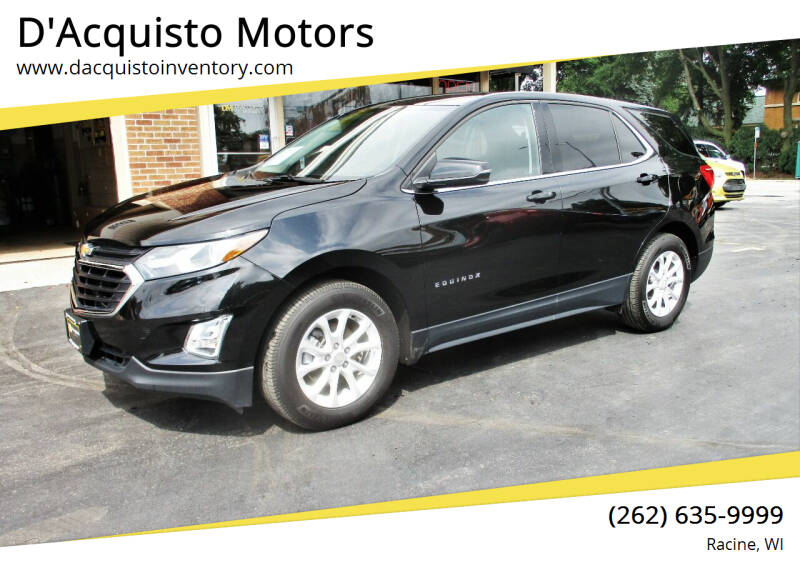 2018 Chevrolet Equinox for sale at D'Acquisto Motors in Racine WI