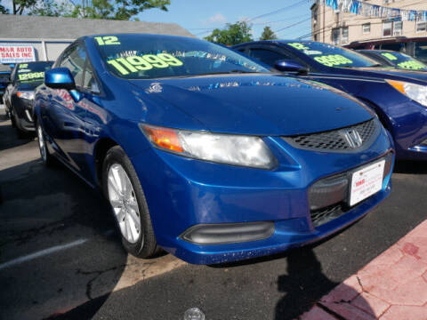 2012 Honda Civic for sale at M & R Auto Sales INC. in North Plainfield NJ