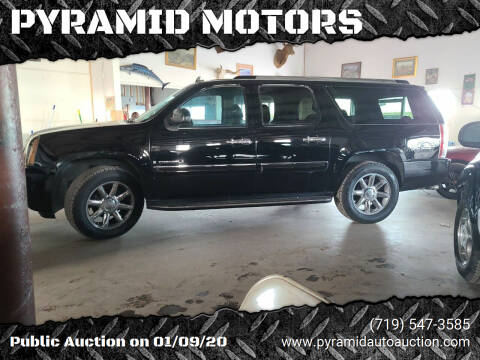2008 GMC Yukon XL for sale at PYRAMID MOTORS - Fountain Lot in Fountain CO
