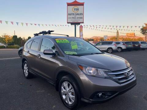 2012 Honda CR-V for sale at TDI AUTO SALES in Boise ID