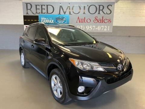 2013 Toyota RAV4 for sale at REED MOTORS LLC in Phoenix AZ