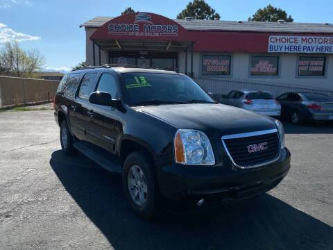 2013 GMC Yukon XL for sale at Choice Motors of Salt Lake City in West Valley  City UT