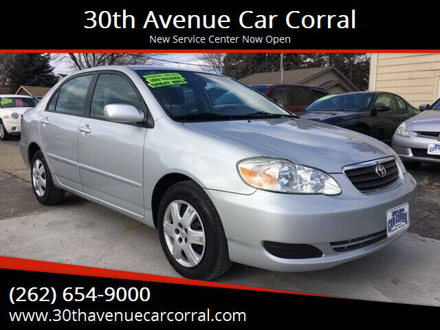 2005 Toyota Corolla for sale at 30th Avenue Car Corral in Kenosha WI