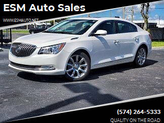 2016 Buick LaCrosse for sale at ESM Auto Sales in Elkhart IN