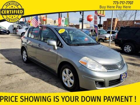2009 Nissan Versa for sale at AutoBank in Chicago IL