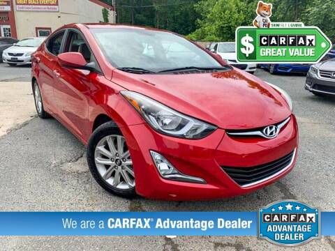 2014 Hyundai Elantra for sale at High Rated Auto Company in Abingdon MD