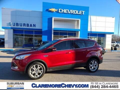 2014 Ford Escape for sale at Suburban Chevrolet in Claremore OK