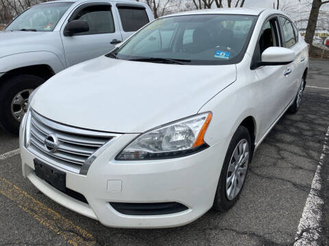 2013 Nissan Sentra for sale at JerseyMotorsInc.com in Teterboro NJ