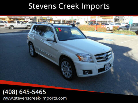 2012 Mercedes-Benz GLK for sale at Stevens Creek Imports in San Jose CA